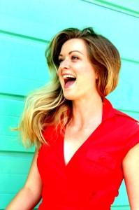 Gemma laughing